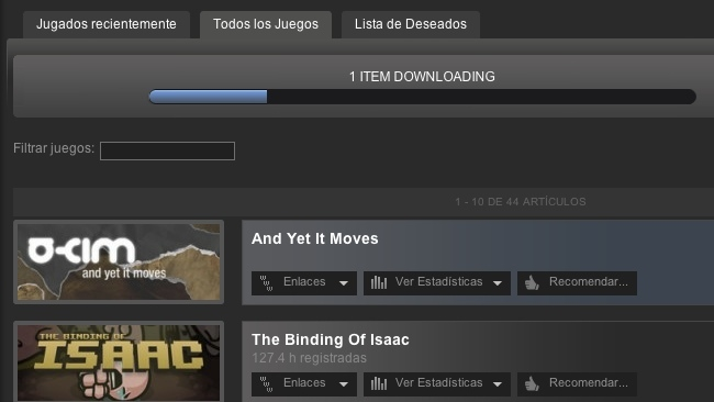 steam descargas
