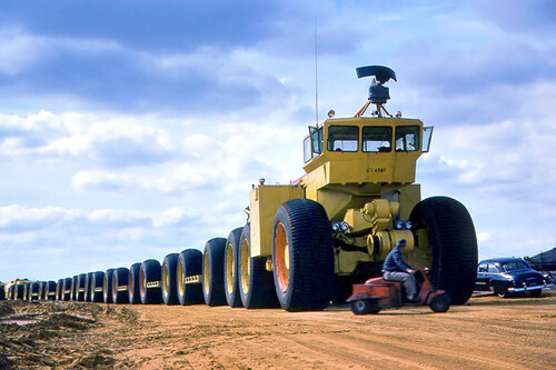 El todoterreno más poderoso del mundo: el desafío por conseguir mover cientos de toneladas donde nunca hubo carreteras
