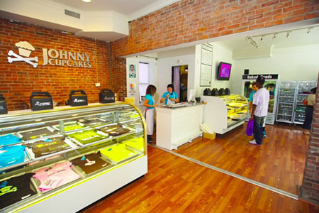 Johnny Cupcake's store