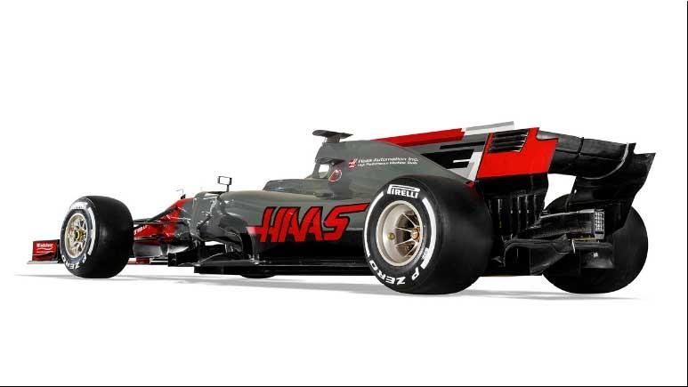 Foto de Haas-Ferrari VF-17 (2/4)