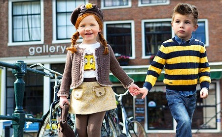 Moda infantil Otoño-Invierno 2014/2015: ropa de vestir para el otoño