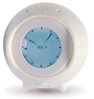 Ticky, despertador con pantalla táctil