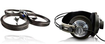 Los mejores accesorios para Mac y dispositivos iOS: Auriculares AKG 142 HD y AR Drone