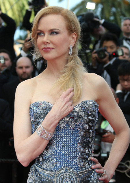 La alfombra roja de la ceremonia inaugural del Festival de Cannes 2014