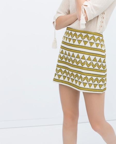 Mini Jacquard Zara