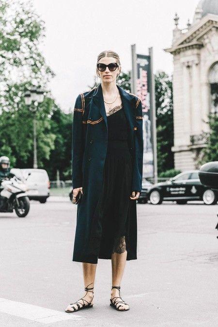 Vestido Lencero Negro 17