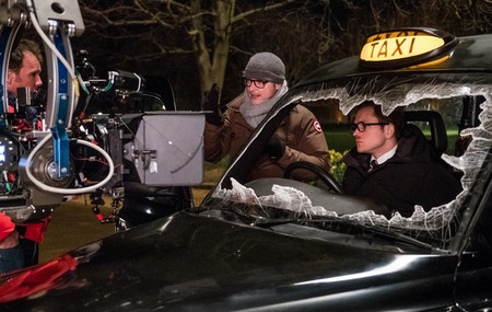 Una foto del rodaje de Kingsman 2