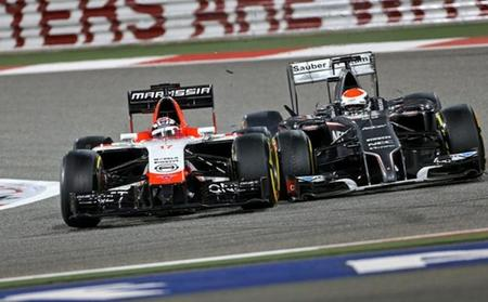 Sauber y Marussia todavía no han pagado por los propulsores de esta temporada