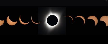Estas son las mejores fotos del eclipse tomadas por la NASA