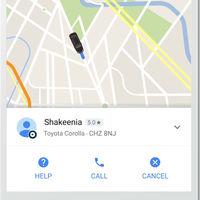 Google Maps ya no permite pedir un Uber desde dentro de la aplicación