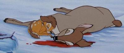Los dibujos animados mueren más que los personajes de imagen real