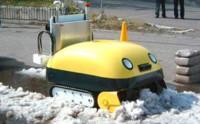 El robot que comprime la nieve en tacos
