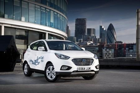 Los primeros Hyundai ix35 de hidrógeno ya han llegado al Reino Unido