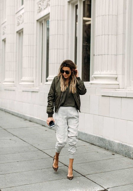 tendencias joggers street style chandal