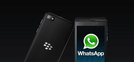 WhatsApp no quiere decir adiós a Blackberry y podría permanecer a su lado hasta finales de año