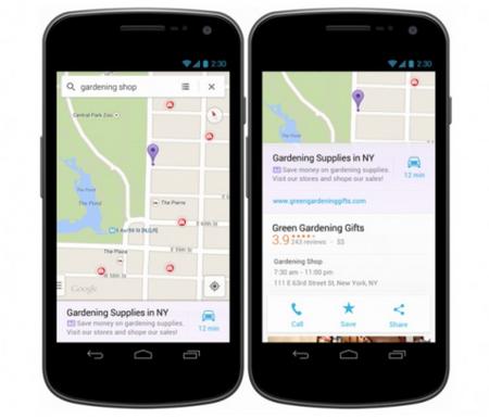 """Google y la publicidad local: anuncios """"relevantes"""" en Maps"""