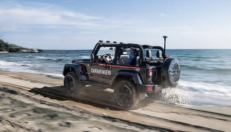 Jeep Wrangler Carabinieri