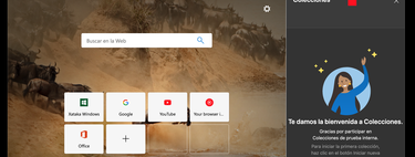 Microsoft lanza la función Colecciones en Edge dentro del canal Canary y así puedes activarlas