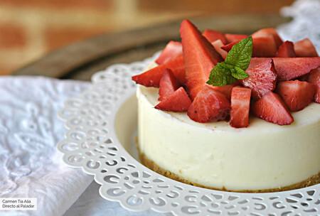 Tarta de queso sin horno: la receta más fácil y rápida de hacer