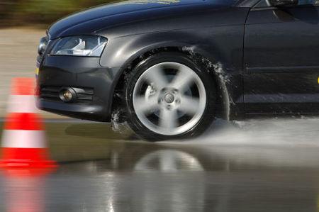 Audi A3 con Goodyear Optigrip