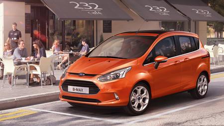 La versión definitiva del Ford B-MAX se verá en Ginebra