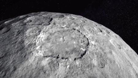 No te sentirás como en The Martian pero en este vídeo puedes volar por encima del planeta Ceres