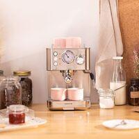Dale un toque retro a tu cocina con esta cafetera superautomática de Ikohs: tan bonita como potente y súper rebajada en Amazon