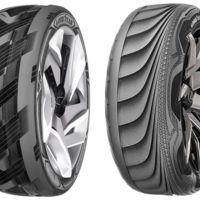 Neumáticos que generan electricidad y que adaptan su forma automáticamente