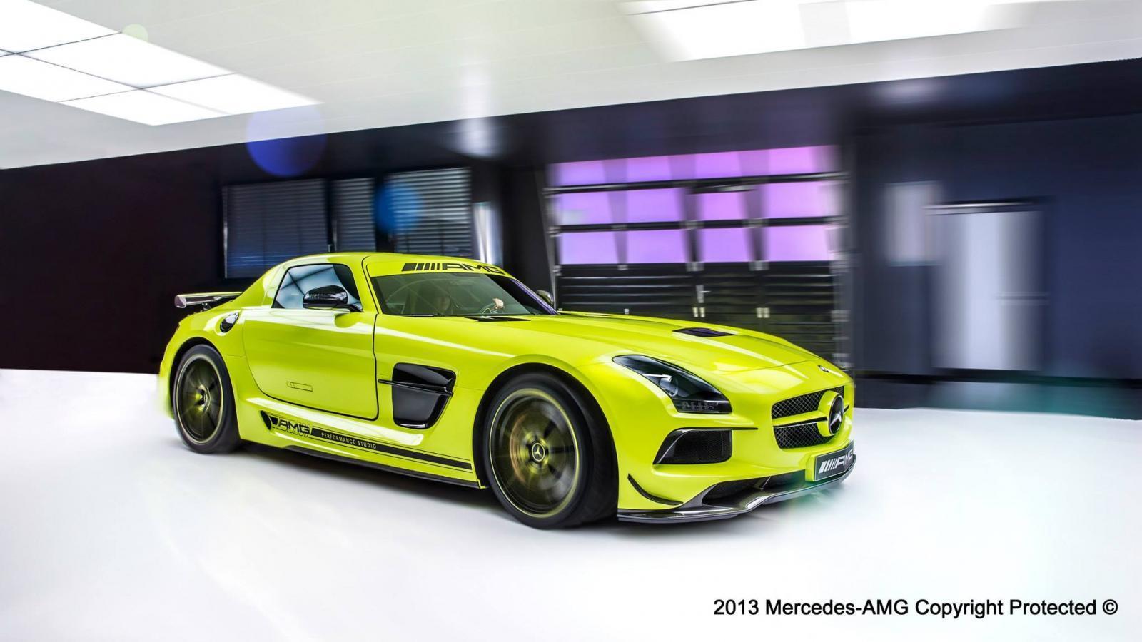 Sls Black Series >> AMG Performance Studio SLS AMG Black Series (1/12)