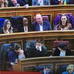 Una diputada de Podemos asiste al Congreso con su bebé