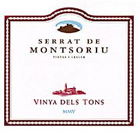 Serrat de Montsoriu Vinya dels Tons 2005