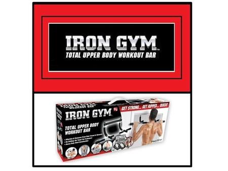 Iron Gym para ponerte en forma en casa, rebajado en eBay por 14,99 euros y envío gratuito