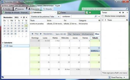 Lightning, el complemento de calendario y agenda para Thunderbird, alcanza la versión 1.0