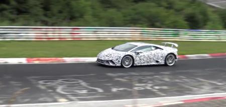 Mira, el Lamborghini Huracan Superleggera ya rueda por el Nürburgring
