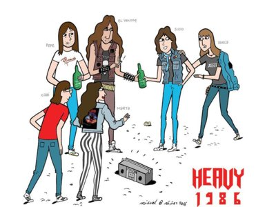 'Heavy 1986': larga vida al rock duro