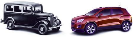 Chevrolet Trax y Chevrolet Suburban Carryall