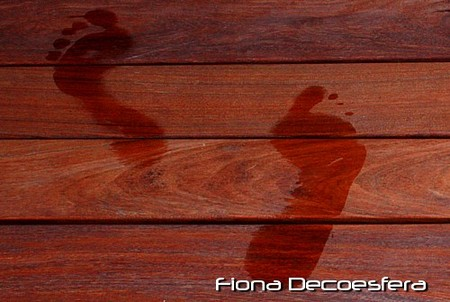 Suelo de madera de ipe