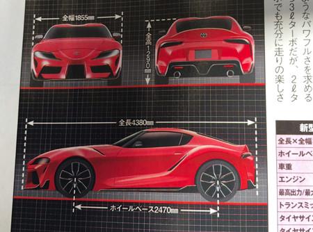 Toyota Supra 2019 As 237 Es Seg 250 N Las Im 225 Genes Filtradas Por