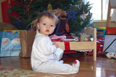 La foto de tu bebé: con su regalo de los Reyes Magos