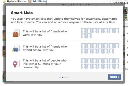 Facebook imita a Google Plus: nueva función Smart Lists