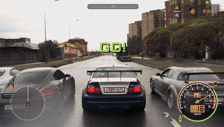 Alguien pensó que era buena idea recrear el 'Need For Speed' con coches de verdad... porque Rusia