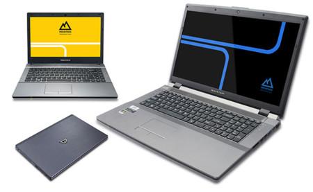 Mountain reduce el hardware para bajar el listón económico de sus portátiles