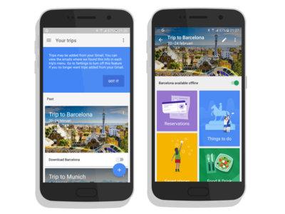 Google Trips: aparecen las primeras imágenes de la aplicación de viajes de Google