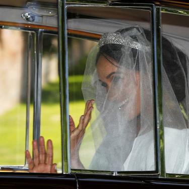 ¡Impresionante! Así es la primera imagen de Meghan Markle vestida de novia