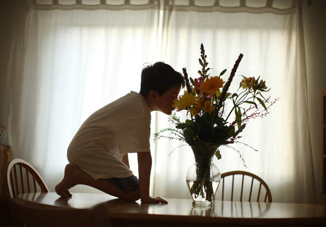 Timothy Archibald captura el particular universo de su hijo autista