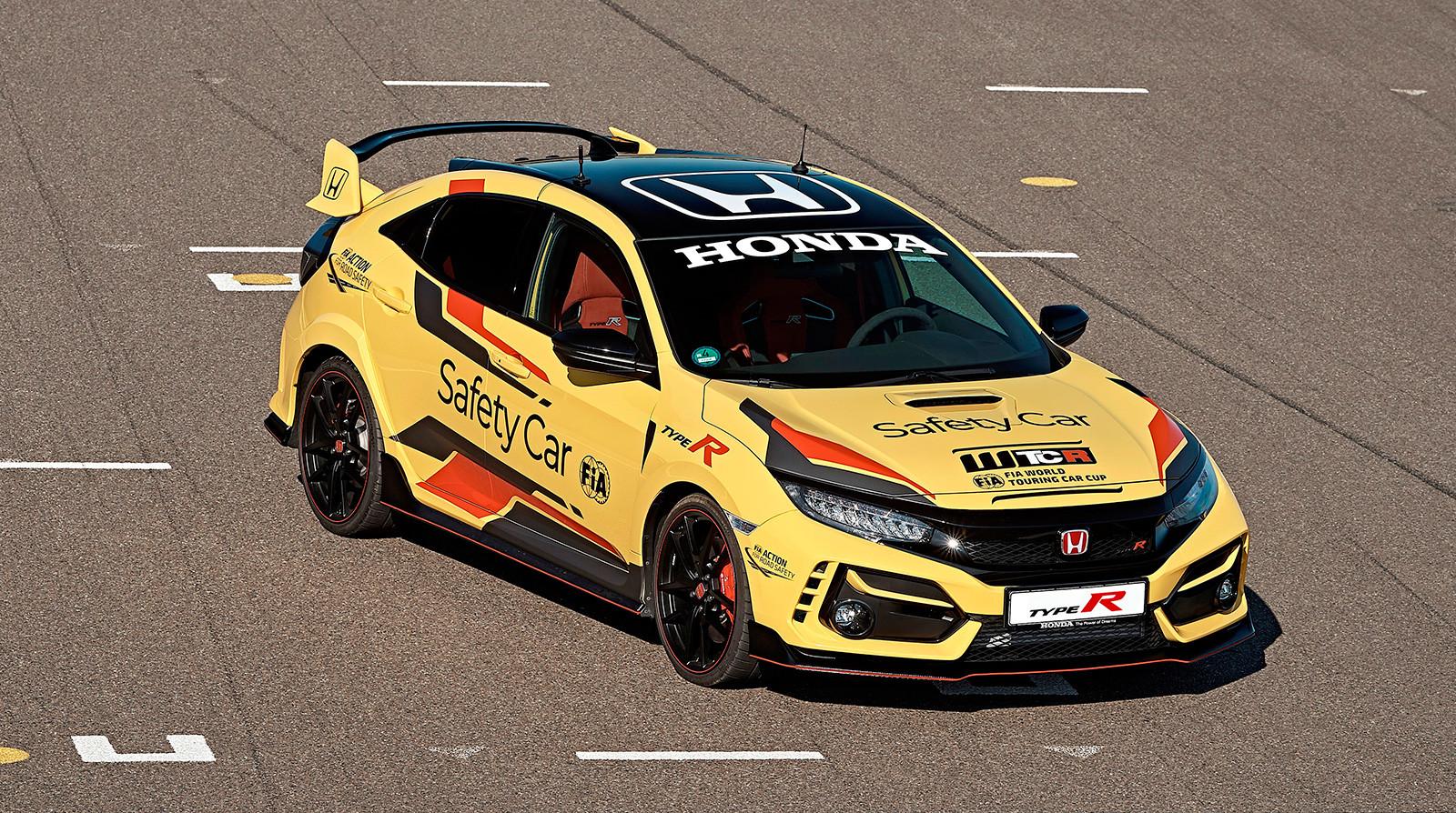 Foto de Honda Civic Type R Limited Edition Safety Car WTCR 2020 (6/9)