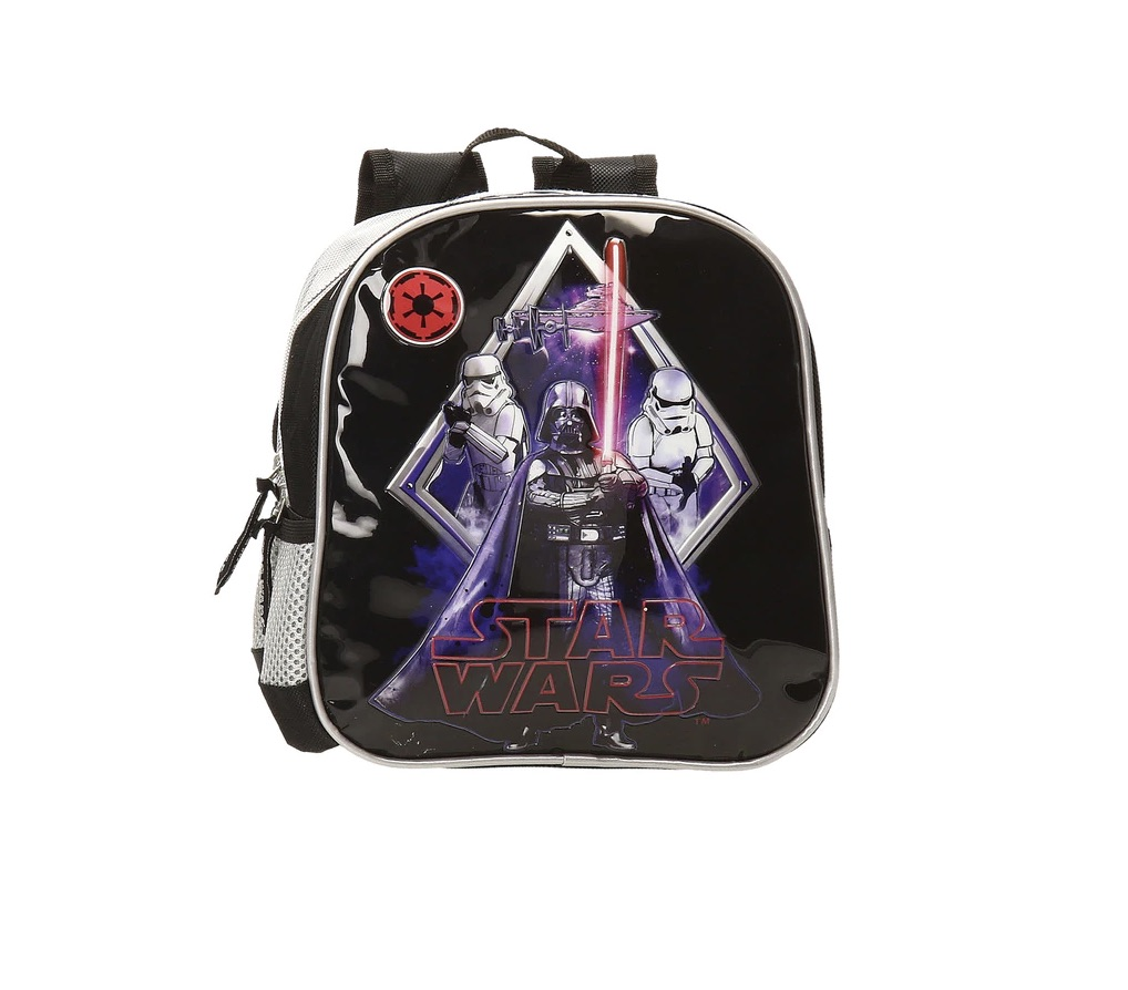 DISNEY  Mochila de preescolar Disney Star wars Darth Vader adaptable a carro