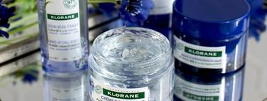 Evitar que el cansancio se nos note en la cara es el objetivo de la nueva línea facial con flor de aciano de Klorane