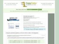 CopyGator, monitoriza quien copia tus contenidos