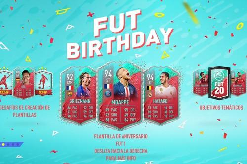Guía FIFA 20. FUT BIRTHDAY: todas las cartas de la Plantilla de aniversario FUT 1 y cómo resolver los desafíos temáticos